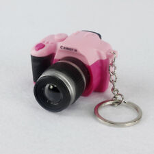 1x Hot Cute Mini Toy Camera Charm Keychain With Flash Light Sound Effect Gift