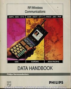 PHILIPS Data Book 1993 RF Wireless Communications