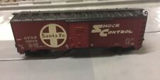 Tyco HO Scale AT&SF Santa Fe Shock Control Boxcar 311U