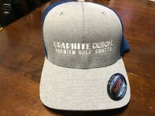 GRAPHITE DESIGN TOUR AD FITTED GOLF CAP - GRAY AND BLUE