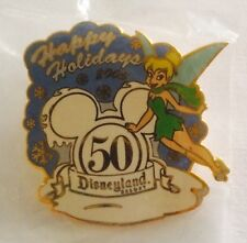 Disney Pin Cast Working Happy Holidays 2005 Tinker Bell
