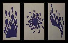 Airbrush Schablonen Set Tropfen 1