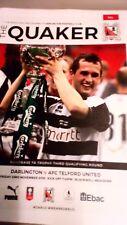 Darlington V Telford United FA Trophy 18/19