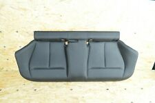BMW F36 GRAN COUPE REAR RIGHT & LEFT LOWER SEAT CHAIR COVER BLACK OEM