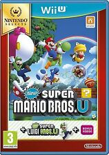 New Super Mario Bros. U + New Super Luigi U Nintendo Wii U Brand New  *AU STOCK*