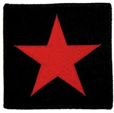 Red Star - Patch - Embroidered - Iron On - Collector's - Licensed New