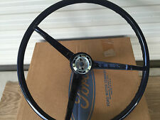 1967 Ford Mustang Steering Wheel NOS Black Fastback Coupe C7ZZ-3600-M 67