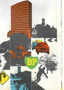 VINTAGE BP ROAD MAP     VICTORIA AUSTRALIA