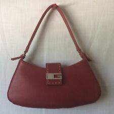 GUESS Cranberry Red Small Hobo Shoulder Bag Handbag Purse
