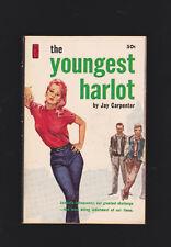 VINTAGE PB.THE YOUNGEST HARLOT.GGA.JUVIES,GANGS.NICE COPY.