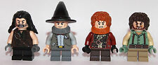 LEGO hobbit Lord of The Ring - 4 SHIRE CITIZENS hobbits - custom - ONLY LEGO