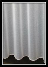Cheap Plain White Net Curtain Lead Weighted Bottom 1146 All Sizes Available 48 Inches (122 Cms) 2 Metres