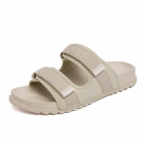 Mens Open Toe Walking Sports Slip on Casual Summer Beach Slippers Shoes US 9.5