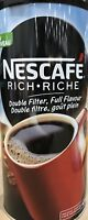 NESCAFE RICH - Double filter, Full Flavour Instant Coffee 475g Made In Canada