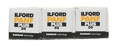 Ilford Pan F 120mm Black & White  Film Pack of 3