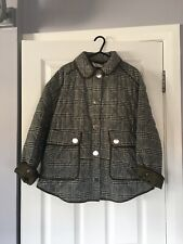 ZARA Quilted Parka Coat Jacket Size XS