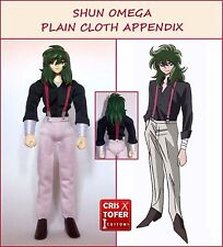 SHUN OMEGA PLAIN CLOTH APPENDIX,para SAINT SEIYA MYTH CLOTH ropa civil ANDROMEDA