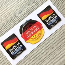 Made in Germany Flag seal domed sticker decal emblem BMW, VW, Porsche, Mercedes