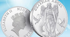 2017 1 oz. 999 Silver Coin 1 dollar Niue Guardian Angel