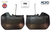 A PAIR OF OEM FORD FRONT MUDFLAPS MUDFLAP MUD FLAPS TRANSIT MK8 2014 ON
