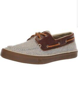 Sperry Men's Bahama II Boat Wool Sneaker, Grey, Size 7 M