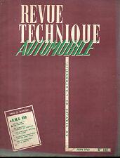 RTA revue technique automobile  N°182 BMC 850 CM3 AUSTIN MORRIS MG INNOCENTI PR