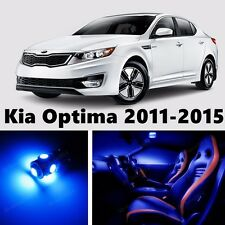 11pcs LED Blue Light Interior Package Kit for Kia Optima 2011-2015