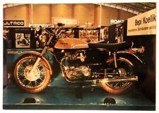 Cartolina Moto Triumph Bonneville 650 cc