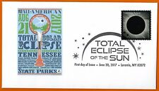 Tennessee State Parks. All-American Total Eclipse. Total Eclipse of the Sun FDC