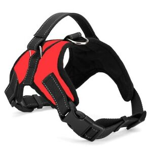 No-pull Dog Harness Outdoor Adventure Pet Vest Padded Handle- Small Extra Large~