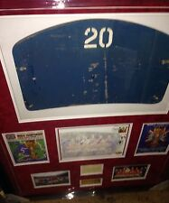ENGLAND 1966 WORLD CUP WINNERS SIGNED  MONTAGE INCLUDING WEMBLEY SEAT
