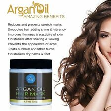 Argan Oil Hair Mask Deep Conditioner Hair Treatment Therapy Damaged Dry Hair AU