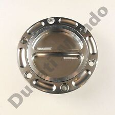 Billet fuel tank filler cap for Aprilia RS 125 250 50 Mille quick release