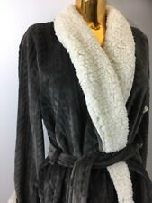Nordstrom Lingerie  💯 Polyester Brown Extra Soft Robe L