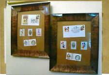 WALT DISNEY 50th ANNIVERSARY COINS SNOW WHITE IN SILVER,FIRST DAY COVER COLLAGE