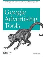 Google Advertising Tools by Harold Davis O'Reilly Paperback Adsense Adwords