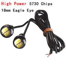 2xNew Eagle Eye LED 9W 18mm 5730 Bulbs White Motor Car Backup Turn Signal Light