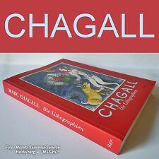 """Marc Chagall:  BUCH  """"MARC CHAGALL - Die Lithographien"""" (1998)"""