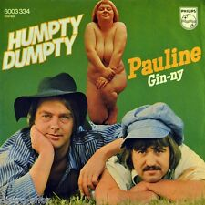 "7"" HUMPTY-DUMPTY Pauline/Ginny PHILIPS Sexy Nude Cover Cheesecake GLAM-ROCK 1973"