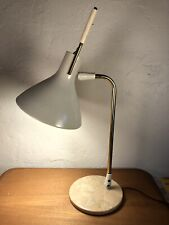 Marble Table Lamp by Maurizio Tempestini Lightolier Vintage