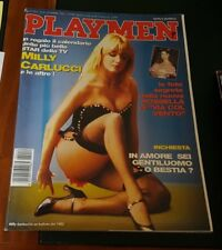 PLAYMEN nr. 12 del 1992 - Cover : MILLY CARLUCCI ( Ottimo )