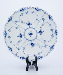 Large Salad Bowl #1019 - Blue Fluted - Royal Copenhagen -  Full Lace