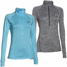 Polyester Patternless Zip Neck Jumpers & Cardigans for Women