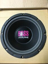 """NEW Old School Alpine 6126GX """"BASS"""" 12"""" subwoofer,Rare,Vintage,MADE IN Japan"""