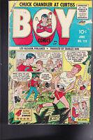 Boy Comics #112- Iron Jaw, Charles Biro, JOE KUBERT art
