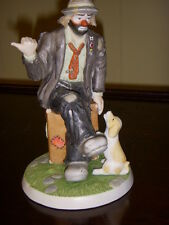 "Emmett Kelly Jr Figurine "" Going My Way? "" rare for Personal Appearances Only"