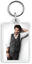 Johnny Depp 003 Keyring / Bag Tag *Great Gift*