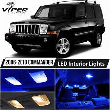 2006-2010 Jeep Commander Blue LED Lights Interior Package Kit