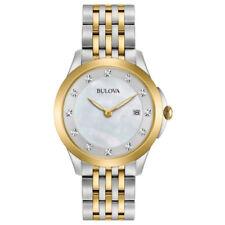 Orologi da polso Bulova donna con cinturino in placcato oro