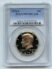 1978 S 50C Kennedy Half Dollar Proof PCGS PR70DCAM